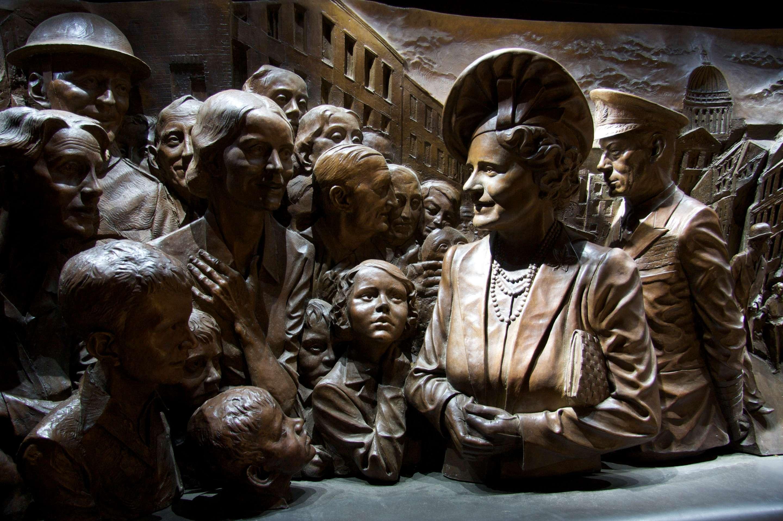 Queen Elizabeth, The Queen Mother Memorial